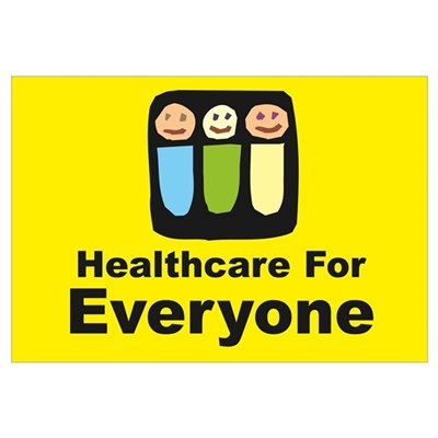 Healthcare for everyone Canvas Art