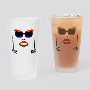Fashion, 21st Birthday Drinking Glass