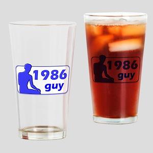 1986, 21st Drinking Glass