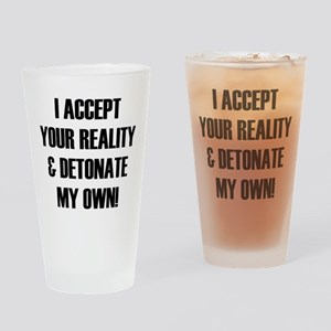 Mythbusters Drinking Glass