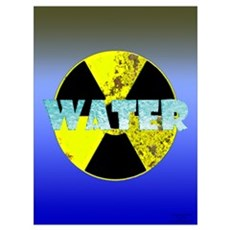 Urban Nuclear Water Framed Print