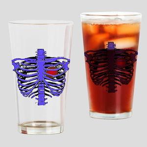 Rib Cage Drinking Glass