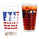 Stars & Stripes Forever Drinking Glass