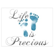 Life Is Precious Canvas Art