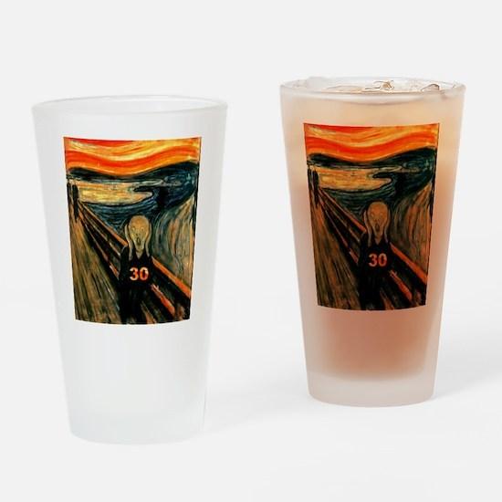 Scream 30th Drinking Glass