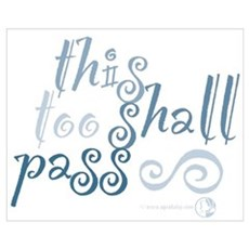 This Too Shall Pass Canvas Art