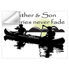 Father and Son Wall Decal