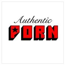 Authentic Porn Star Poster