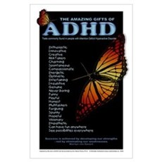 Amazing Gifts of ADHD Canvas Art