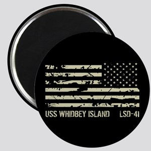 USS Whidbey Island Magnet