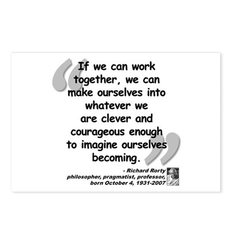 Rorty Together Quote Postcards (Package of 8)