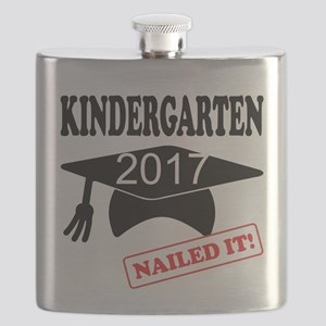 Custom Kindergarten Nailed It Flask