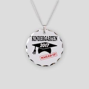 Custom Kindergarten Nailed I Necklace Circle Charm