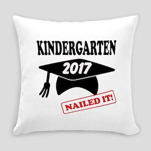 Custom Kindergarten Nailed It Everyday Pillow