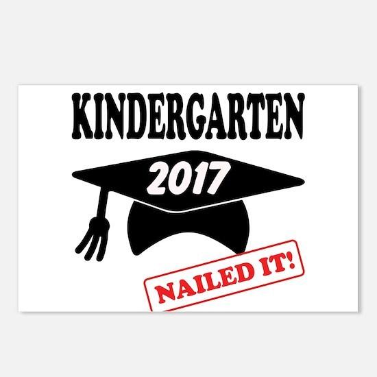 Custom Kindergarten Naile Postcards (Package of 8)