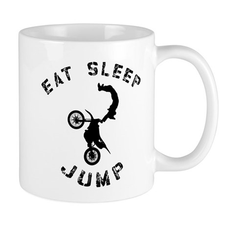 Eat Sleep Jump FMX Mug