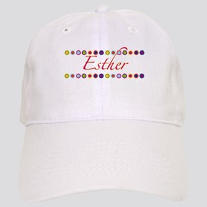 Esther with Flowers Cap