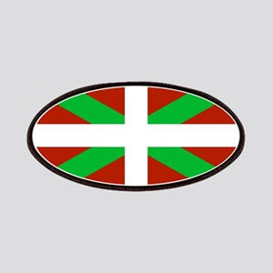 Basque Flag Ikurrina Patch