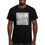 Buddhist Colony Men's Fitted T-Shirt (dark)