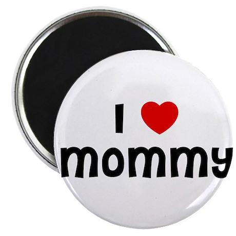 """I * Mommy 2.25"""" Magnet (10 pack)"""