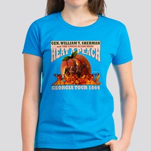 Gen. Sherman 'Heat a Peach' T Women's Dark T-Shirt