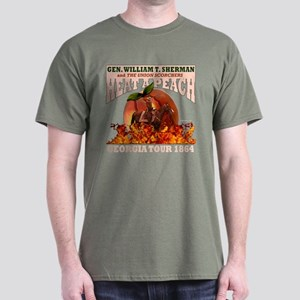 Gen. Sherman 'Heat a Peach' T Dark T-Shirt