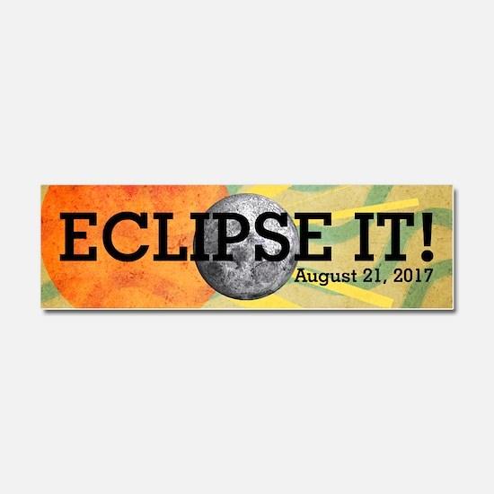 Eclipse 2017 Car Magnet 10 x 3