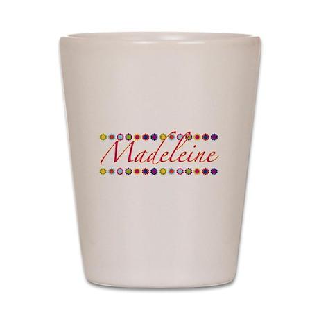 Madeleine with Flowers Shot Glass