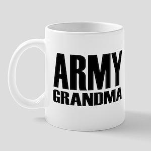 Army Grandma Caps Mug