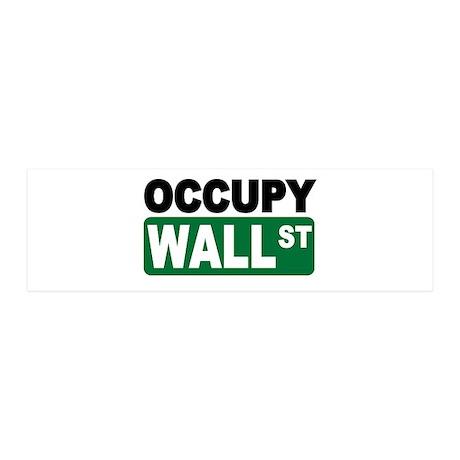 Occupy Wall St. 21x7 Wall Peel
