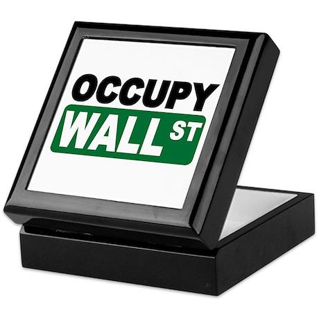 Occupy Wall St. Keepsake Box