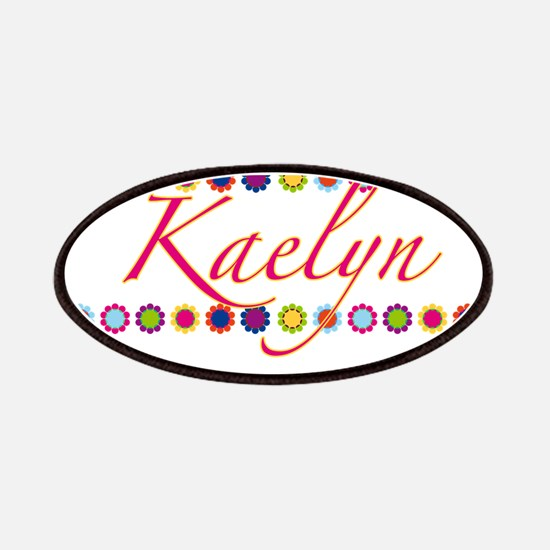 Kaelyn with Flowers Patches