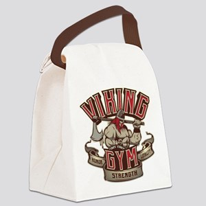 Viking Gym Canvas Lunch Bag