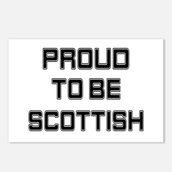 Proud to be Scottish Postcards (Package of 8)