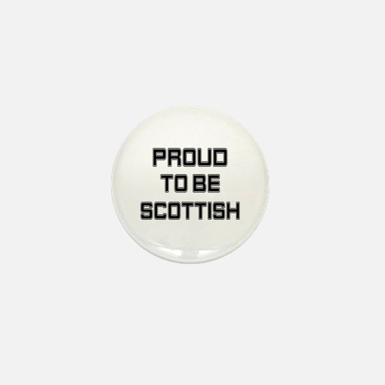 Proud to be Scottish Mini Button