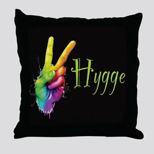 Hygge Peace Throw Pillow