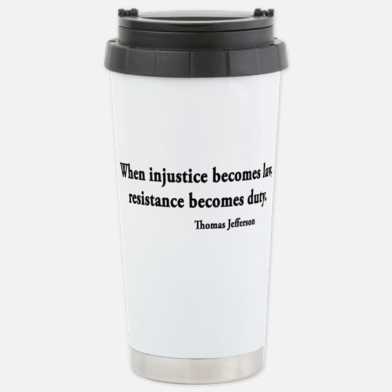 Cute Thomas jefferson Travel Mug
