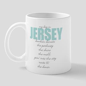 My Day in Jersey Mug