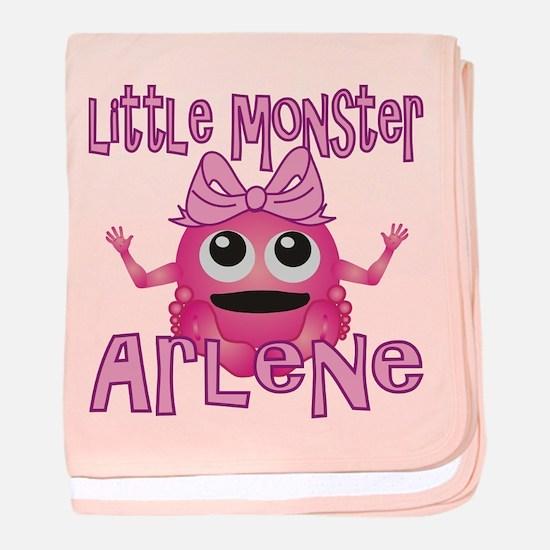Little Monster Arlene baby blanket