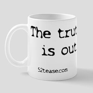 Stephen Colbert Truthiness/X-files Mug