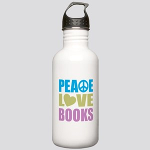 Peace Love Books Stainless Water Bottle 1.0L