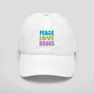 Peace Love Books Cap