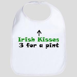 Irish Kisses for Sale Bib