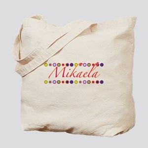 Mikaela with Flowers Tote Bag