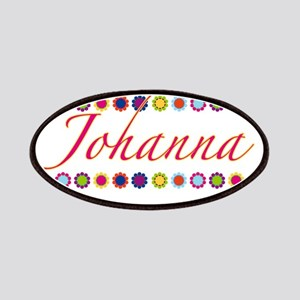 Johanna with Flowers Patches