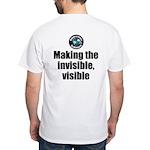 Making Visible White T-Shirt