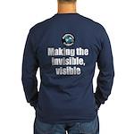 Making Visible Long Sleeve Dark T-Shirt
