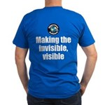 Making Visible Men's Fitted T-Shirt (dark)