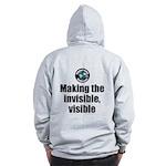 Making Visible Zip Hoodie