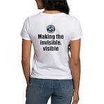 Making Visible Women's Classic White T-Shirt